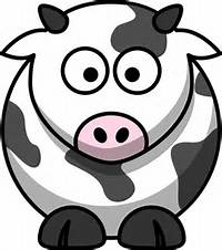 Cow Cartoon Clip Art