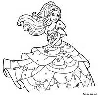 Barbie Coloring Pages To Print For Girls