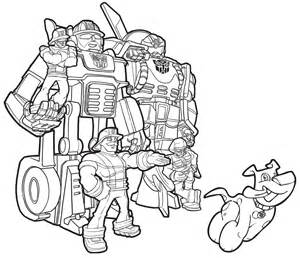 ... ~ transformer rescue bots coloring pages - Coloring Pages for Kids