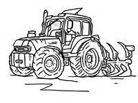 Kolorowanki Traktor Tom