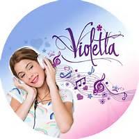 Violetta Disney Cake