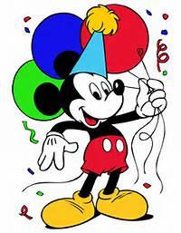 Mickey Mouse Birthday – Free Disney Vector  Tuts King