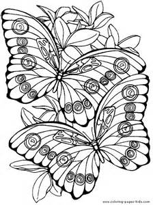 Butterflies coloring pages and sheets can be found in the Butterflies ...