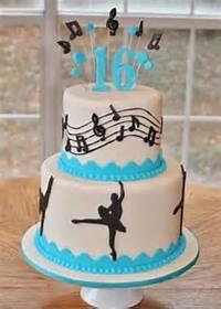 Dance Birthday Cake
