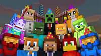 Minecraft Xbox 360 Birthday Skin Pack