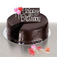 Chocolate Cake Happy Birthday Wishes