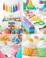 Rainbow Birthday Party Ideas