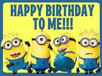 Me Birthday To Minions Happy