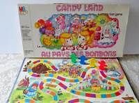 Vintage Candy Land Board Game