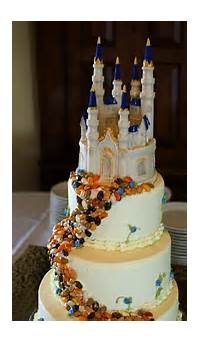 Disney Castle Beauty And The Beast Wedding Cake