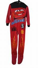 Boys Onesie Footed Pajamas Size 8
