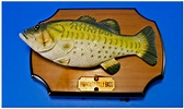 Big Mouth Billy Bass Singing Fish Wall Plaque.