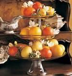 Fall Fruit Centerpiece Idea