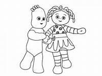 Iggle Piggle Coloring Page