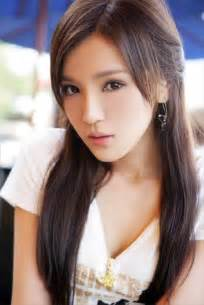 asian girls hairstyles with beautiful blunt cut