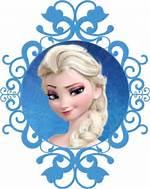 Elsa Frozen Cut Out