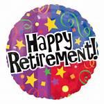 Happy Retirement Balloons