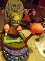 Zombie Birthday Cake Ideas