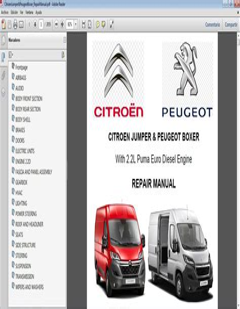 Download Link Citroen C25 pdf Workshop Repair and Service Manual 1982 to 1994