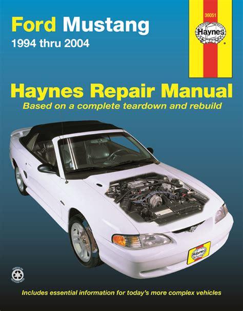 1964-1973 Ford Mustang Haynes Repair Manual