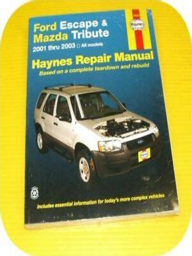 NEW 2003 Mazda Tribute SUV Factory OEM Wiring Diagram Service Repair Manual