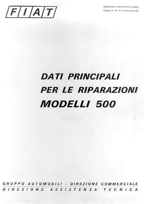 Riparazione e Manutenzione Manuale Officina FIAT IDEA in Italiano Assistenza