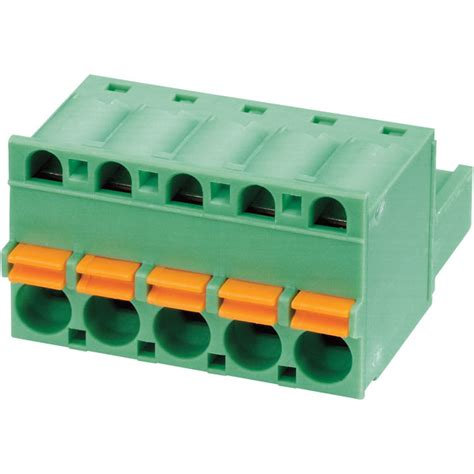 12AWG 1757035 By PHOENIX CONTACT PLUGGABLE TERMINAL BLOCK 4POS