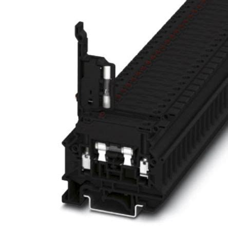 Qty 5 NEW Phoenix Contact 3004265 Fuse Modular Terminal Block UK 6,3-HESILED 24