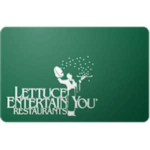 $100 Lettuce Entertain You Gift Card