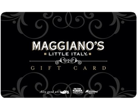 $100 Maggiano's Little Italy Gift Card