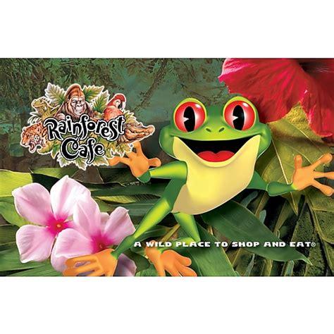 $100 Rainforest Cafe Gift Card