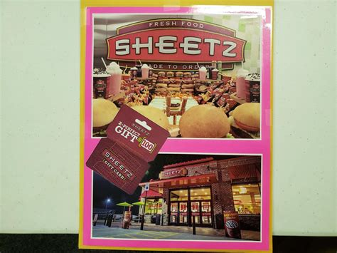 $100 Sheetz Gift Card