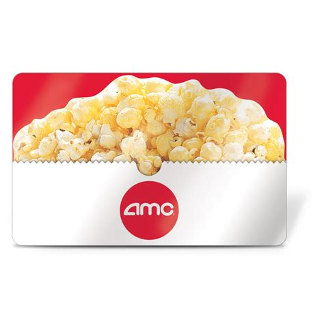 $25 AMC Theatres Gift Card