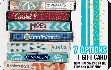 $25 Auntie Anne's - Mix It Up Gift Card