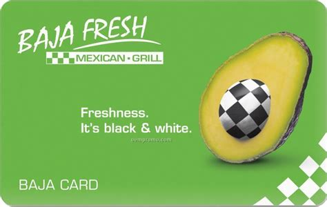 $25 Baja Fresh Gift Card