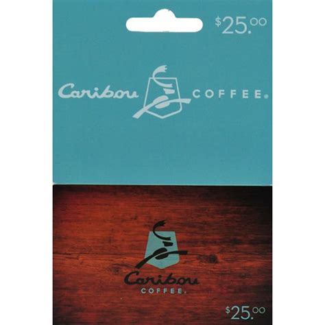$25 Caribou Coffee Gift Card