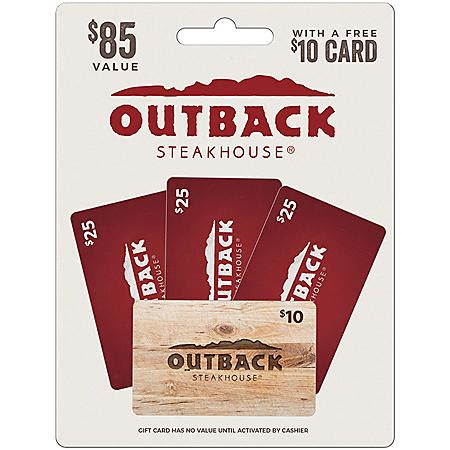$25 RPM Steak Gift Card