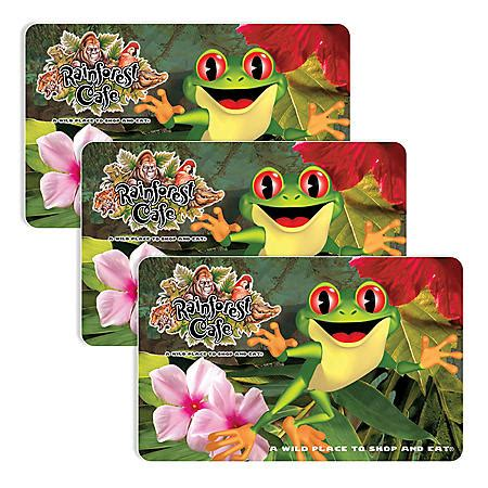 $25 Rainforest Cafe Gift Card