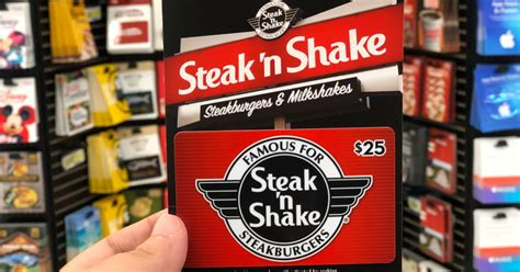 $25 Steak 'n Shake Gift Card