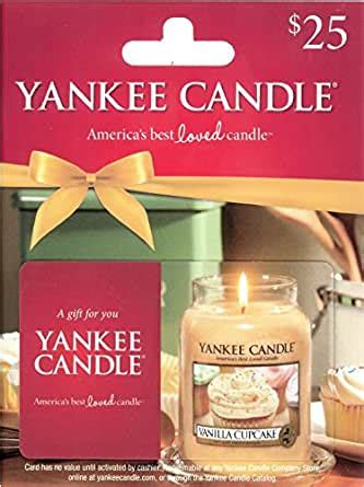 $25 Yankee Candle Gift Card