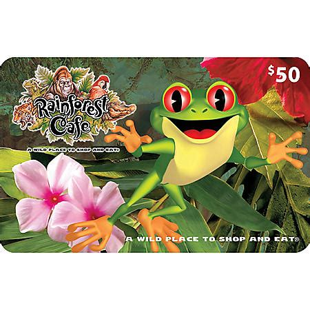 $50 Rainforest Cafe Gift Card