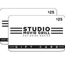 $50 Studio Movie Grill Gift Card