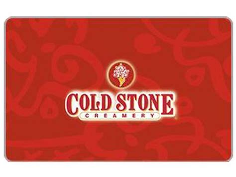 $75 Cold Stone Creamery Gift Card
