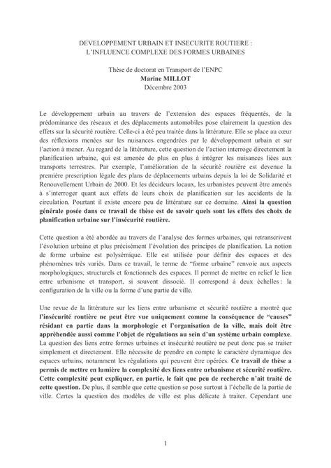 Étude des liens complexes entre formes urbaines et insécurité routière (Les rapports d'étude)