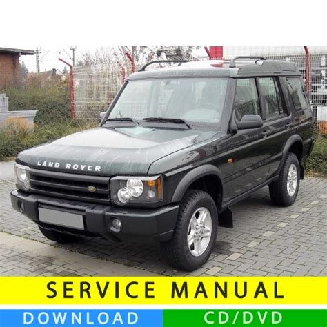 00 L Rover Discovery 2 Owners Manual