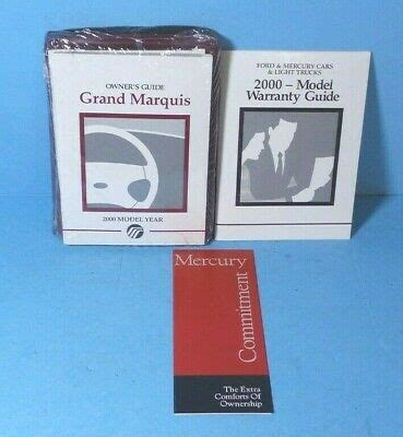 00 Mercury Grand Marquis Repair Manual