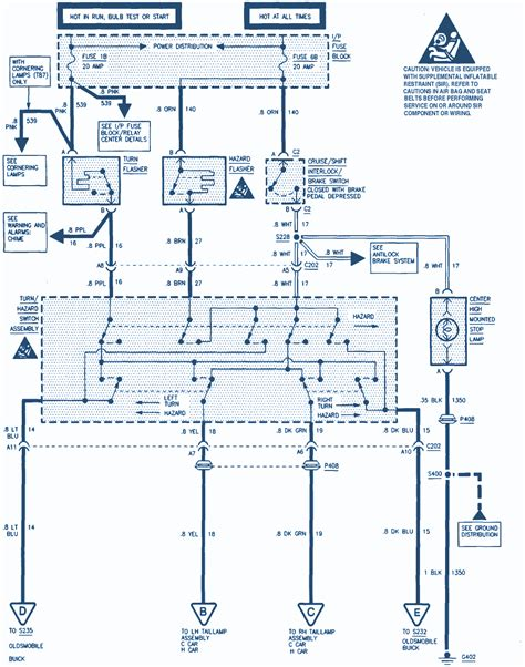 01 Buick Park Avenue Wiring Diagram