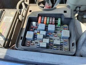 01 Chevy Truck Fuse Box
