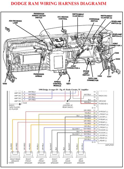 01 Dodge Ram Wiring Diagram Install