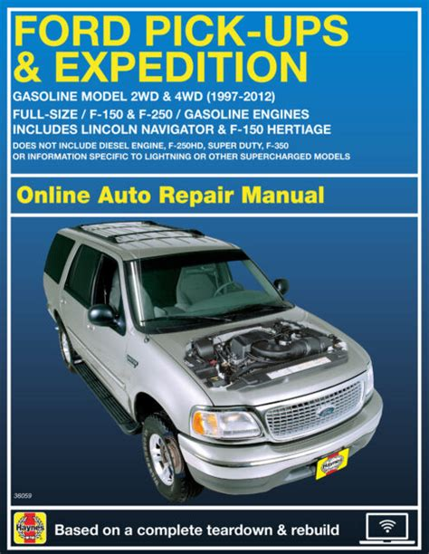 01 Ford Expedition Service Manual